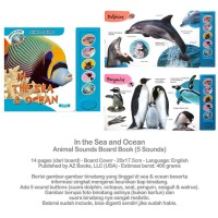 In the Sea and Ocean Animal Sounds Board Book