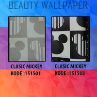 Wallpaper Motif Mickey Mouse