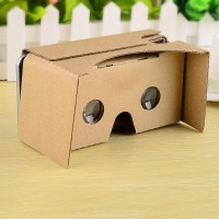 Jual Google Cardboard VR 2.0 - DIY Virtual Reality - Small Lens Murah
