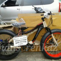 harga Sepeda Wimcycle Fatman Ban Gede Tokopedia.com