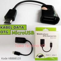 Kabel Data OTG MicroUSB (Bisa Pakai Semua HP / Tablet Android)