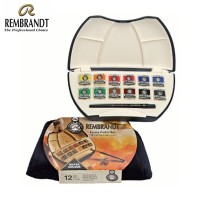 Rembrandt Watercolour Pocket Box Set 12 Pans