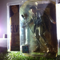 Action Figure Elvis Presley By Mcfarlane