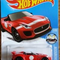 Hotwheels '15 Jaguar F-Type Project 7