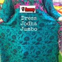 Dress Batik Jumbo- Dress Jodha Jumbo Batik Sammy