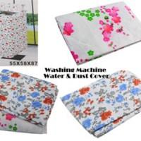 Sarung Cover Mesin Cuci Pelindung Debu / Laundry Machine Cover