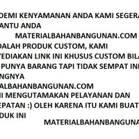 pesanan toko bangunan citra materialbahanbangunan.com custom