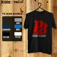 harga Kaos Game -pbk-01 Point Blank #pointblank Tokopedia.com