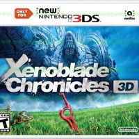 New 3DS Xenoblade Chronicles 3D (Usa / Asia)
