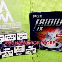 Busi Motor Racing Iridium NGK (BPR7HIX dan BPR8HIX)
