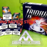 Busi Motor Racing Iridium NGK (BPR7EIX, BR8EIX, dan BR9EIX)