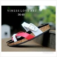 Sandal Wanita Murah Vintage Flip Flop