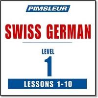 DVD Pimsleur Swiss German (Lessons 1-10)