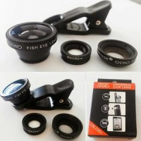 harga (MURMER) 3 in 1 FIsh Eye lensa kamera all handphone Tokopedia.com