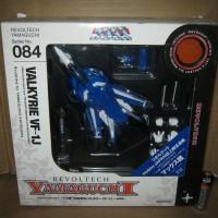 Valkyrie VF-1J Macross No. 084 Blue Revoltech Yamaguchi Action Figure