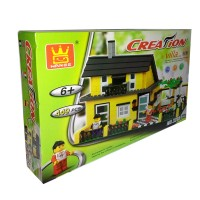 harga Lego Brick Wange Creation Village 32051 Tokopedia.com