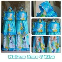 Mukena Anak Frozen Anna & Elsa - Size L ( 7-8 thn )