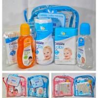 Cussons Baby Mini Bag, Gift Set Bayi, Kado Bayi, Set Bedak Bayi