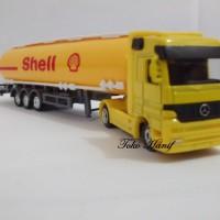 Diecast Miniatur Replika Truck Tanki Shell
