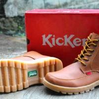 harga Sepatu Kickers Boots Bantal Tan Tokopedia.com