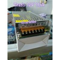 TRAFO 12V 10A ADAPTOR POWER SUPPLY / TRAVO CCTV LED STRIP DLL