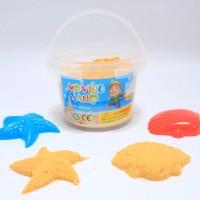 Jual Pasir Mainan Ajaib 500g / Kinetic Super Sand Murah