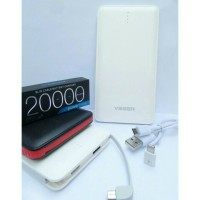 POWERBANK VEGER V80 20000MAH / 20.000MAH SLIM