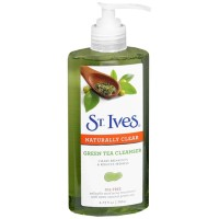 St. Ives Naturally Clear Green Tea Gel Cleanser - 200ml