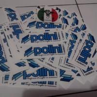 Sticker Polini Original Italy untuk Semua Vespa