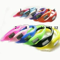 Jam Gelang Silicone - Ion Silicone Sport Watch