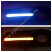 Cover Foglamp DRL LED Honda HRV