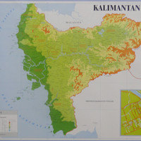 Peta Provinsi Kalimantan Barat (Lipat)