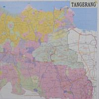Peta Kota Tangerang (Lipat)