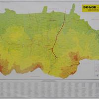 Peta Kabupaten-Kota Bogor-Depok (Lipat)