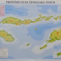 Peta Provinsi Nusa Tenggara Timur (Lipat)