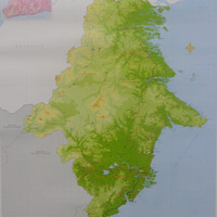 Peta Provinsi Kalimantan Timur (Lipat)