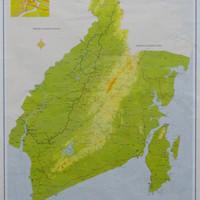 Peta Provinsi Kalimantan Selatan (Lipat)