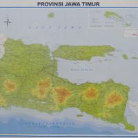 Peta Provinsi Jawa Timur (Lipat)