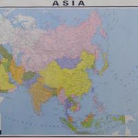Peta Benua Asia (Lipat)