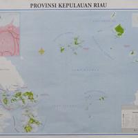 Peta Provinsi Kepulauan Riau (Lipat)