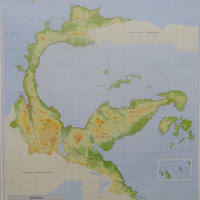 Peta Provinsi Sulawesi Tengah (Lipat)