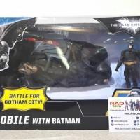 harga Action figure diecast batmobile with batman mattel Tokopedia.com