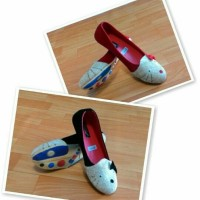 Flat Shoes Hk Character Size 37-41