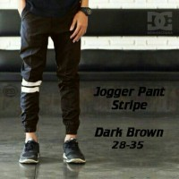 Jual Jogger pants strip Murah