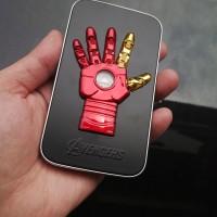 harga Powerbank Marvel Avenger Ironman Hand / Palm Slim 12.000ma Tokopedia.com