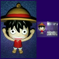 Gantungan Kunci Luffy One Piece Keluhan 2 Clifferent Face Import 12cm