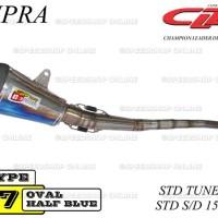 Knalpot CLD Racing Supra Type C7 Standar TuneUp s/d 150cc Silencer H/B