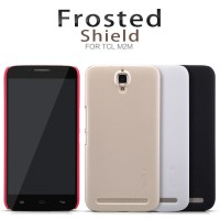 Alcatel One Touch Flash Plus Nillkin Super Frosted Shield - Gold