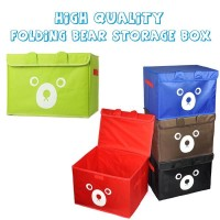 Folding Bear Storage Box / Kotak Panda / Storage Box