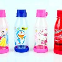 Jual Botol | Tempat Minum | Motif Hello Kitty | Cars | Doraemon | Princess Murah